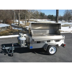 Blue Ridge Moutain Cookery CC1000, Towable Propane Grill
