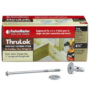 Fastenmaster Thru-Lok Screws