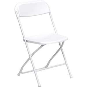 Wedding White Folding Chair