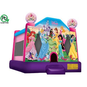 Moonwalk Disney Princess Jump (Medium)
