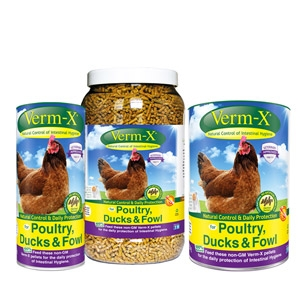 Verm-X® Granules for Poultry