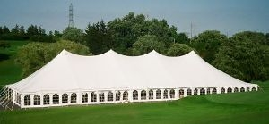 60' X 90' Single Center Pole Tent
