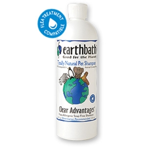 EarthBath Clear Advantages Totally Natural Pet Shampoo