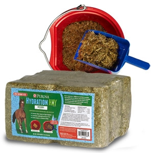 Purina® Hydration Hay™ Original Horse Hay Block 6-pack