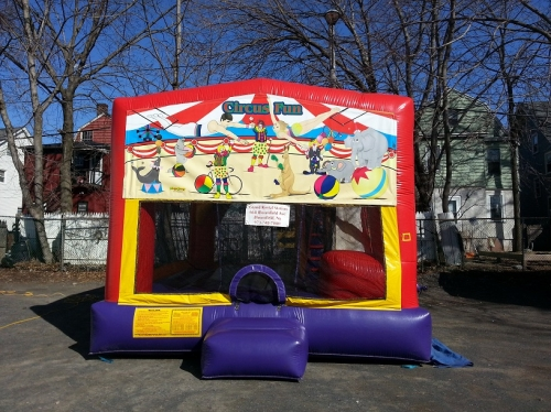 INFLATABLE CIRCUS THEME COMBO 4 IN 1