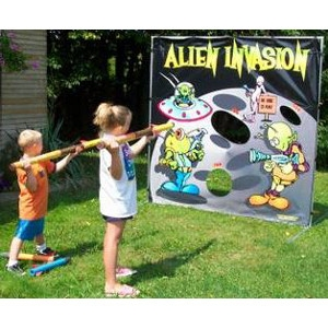 Alien Invasion Twister Display Game