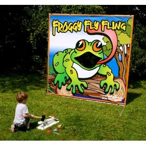 Twister Display Froggy Fly Flying Game