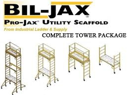 Bil-Jax Multipurpose Scaffolding With Additional Section