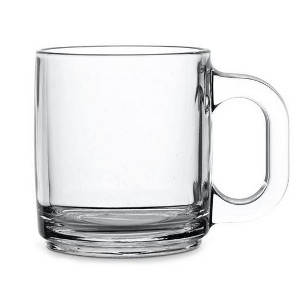Libbey 5201, 10Oz Warm Glass Beverage Mug