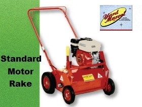 Yard Marvel Power Rake with 5.5 Honda Engine