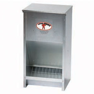 Miller Galvanized High Capacity Poultry Feeder