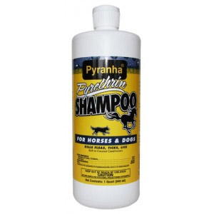 Pyranha® Pyrethrin Shampoo™ for Dogs and Horses