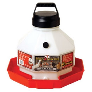 Miller 3 Gallon Plastic Poultry Waterer