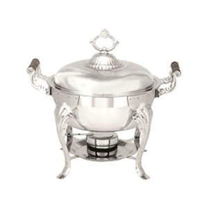 Chafer, 5-Quart Round Stainless Steel