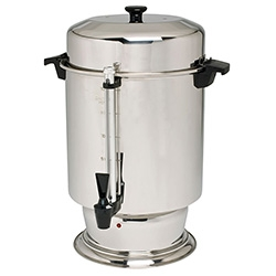 Beverage, 110-Cup Stainless Steel Coffee Urn