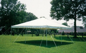 20 X 20 All Purpose White Canopy, Tent