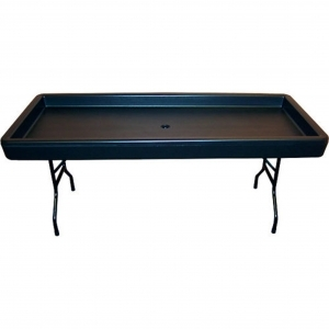 Chillin Products Fill 'N Chill Party Table - Black