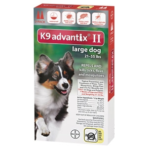 Bayer K9 Advantix II for Large Dogs