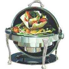Roll top chafer 8qt-round