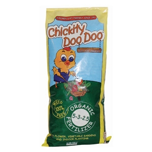 Chickity Doo Doo™ Organic Fertilizer 5-3-2.5