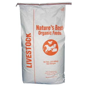 Nature's Best Organic 16% Goat Feed