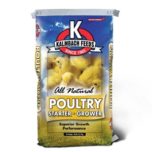 Kalmbach 20% All Natural Flock Starter Grower Crumble