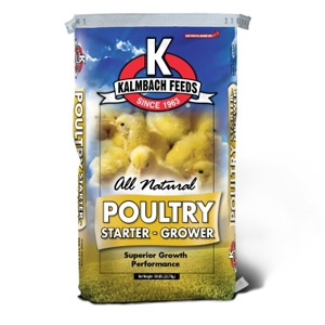 Kalmbach 20% All Natural Flock Starter Grower Pellet