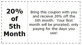 25 Percent Off Coupon