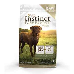 Instinct® Raw Boost Venison & Lamb Meal Formula for Dogs
