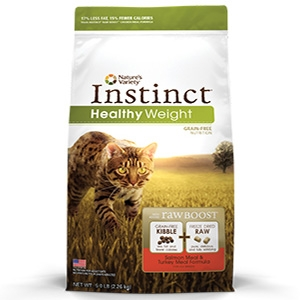 Instinct® Healthy Weight Salmon Meal & Turkey Meal Cat Formula