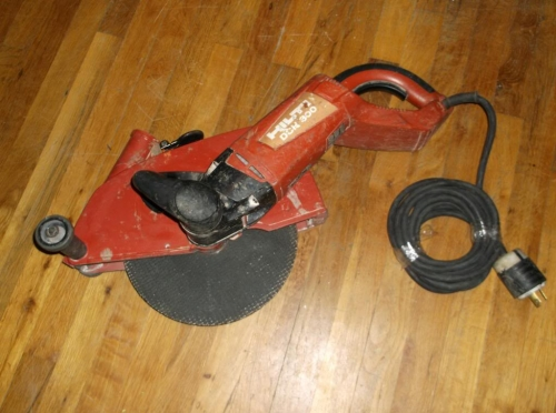 Cut Off Saw Hilti