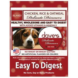 Dave's Pet Food Delicate Dinners Easy To Digest Dog Food