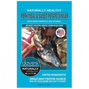 Dave's Pet Food Naturally Healthy Pork Meal & Sweet Potato Dog Food