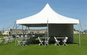 Frame tent: 20' x 30' HP