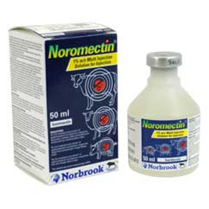 Noromectin® (Ivermectin) Antiparasitic Injection for Cattle and Swine