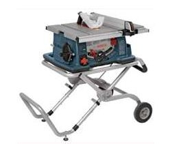 10in Worksite Table Saw W/Stand