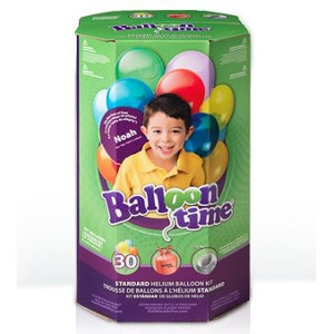 Helium Balloon Kit - 30 Balloons