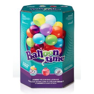 Helium Balloon Kit - 5 Balloons