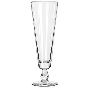 Libby Glass, 6425 10oz Footed Pilsner Glass
