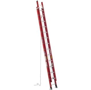 Werner Ladder, D6332-2, 32' Fiberglass Extension Ladder