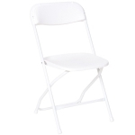 Wedding White Plastic Dining Chair