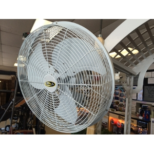 J & D Mfg's Extreme Air Indoor/Outdoor UL507 Certified Wall, Celiling or Pole Mount Fan