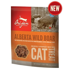 Orijen® Alberta Wild Boar Freeze Dried Cat Treats