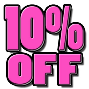 10% OFF All Retail Items