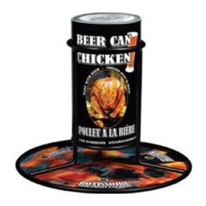 Beer Can Chicken Cooker and Spices