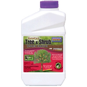Annual Tree & Shrub Insect Control