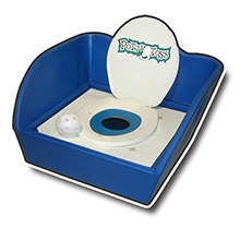 Potty Toss, Toss Game