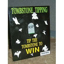 Tombstone Toss Game