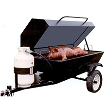 Towable Pig Oven
