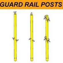 Guard rail posts